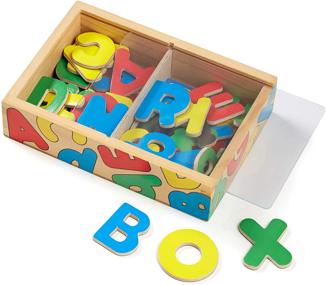 Magnetic Wooden A-Z Box