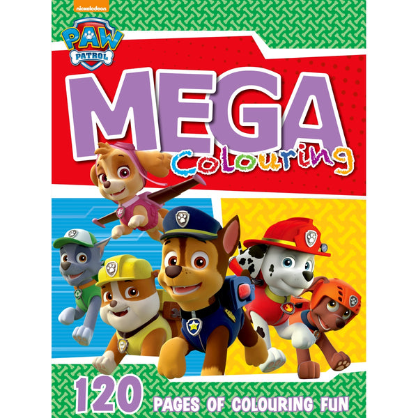Paw Patrol Mega Colouring Book 120pg