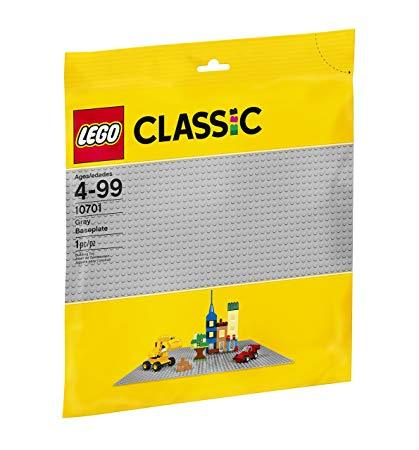 10701 Grey Baseplate Classic