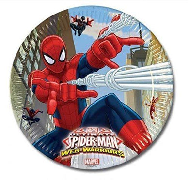 Spiderman War Webs Plates