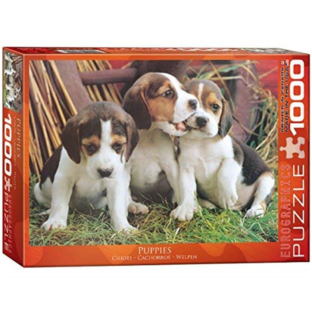 Puzzle 1000pc Puppies (eurographics)