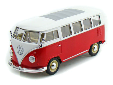 VW Classical Bus Red/White 1963 (scale 1 : 24)