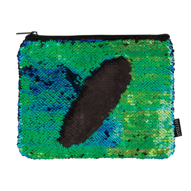 Beauty Magic Sequins Pouch Mermaid Black