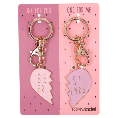 Top Model Broken Heart 2pc Keyrings