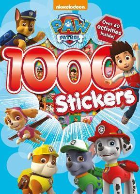 Paw Patrol 1000 Stickers Activity Book
