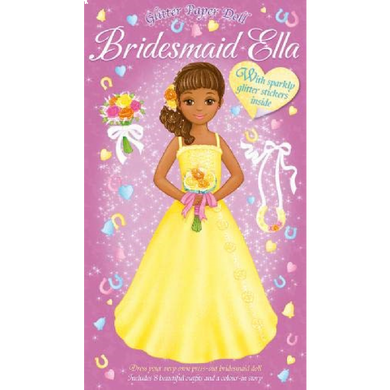 Glitter Paper Dolls Bridesmaid Ella