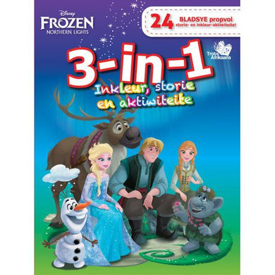 Disney Frozen Afrikaans 3-In-1