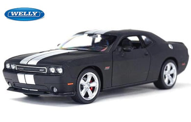 Dodge Challenger SRT Matt Black 2012 (scale 1 :24)
