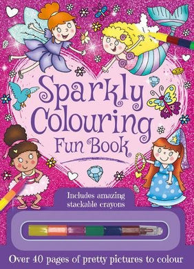 Sparkly Colouring Fun Book