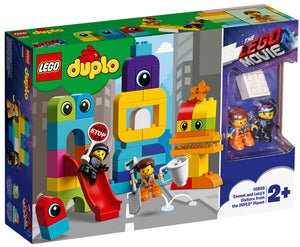 10895 Emmet & Lucy's Visitors from Duplo Planet Duplo