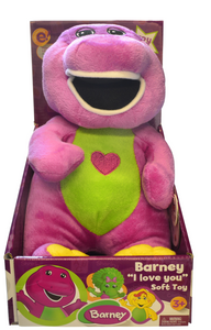 Barney Plush 10 Inch Soft Toy Singing