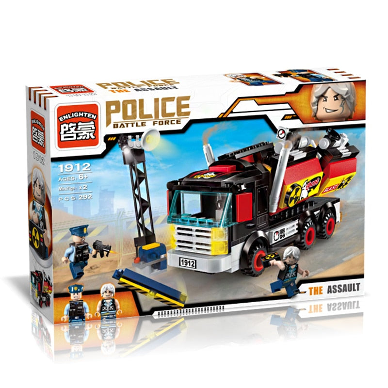 Police Battle Force/The Assault 292pc