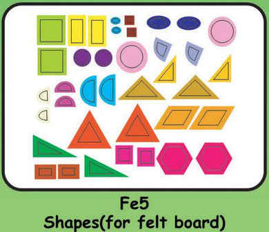Felt Shapes for Felt Board