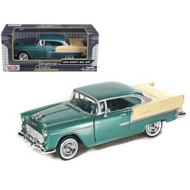 Chevy Bel Air Green 1955 (scale 1 : 24)