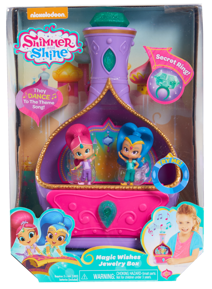 Shimmer N Shine Musical Jewellery Box