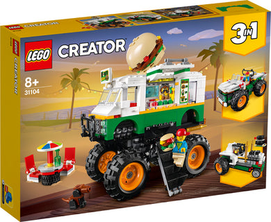 31104 Monster Burger Truck Creator