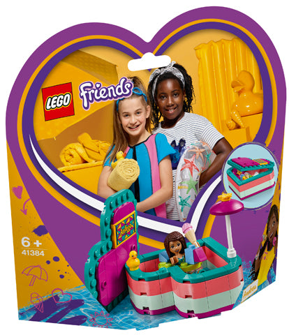 41384 Andrea's Summer Heart Box Friends