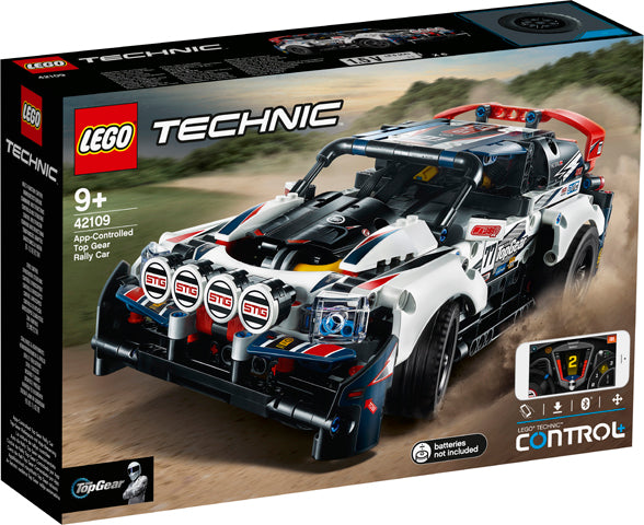 42109 App-Controlled Top Gear Rally Car Technic