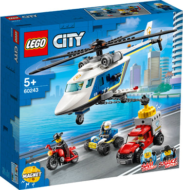 60243 Police Helicopter Chase City