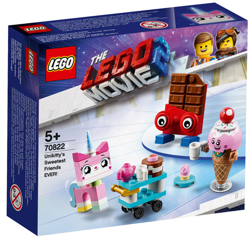 70822 Unikitty's Sweetest Friends EVER Lego Movie2