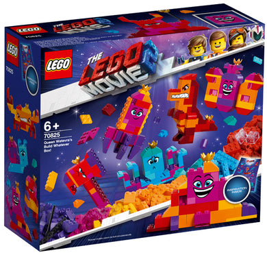 70825 Queen Watevra's Build Whatever Box Lego Movie 2
