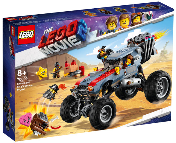 70829 Emmet And Lucy's Escape Buggy! Lego Movie 2
