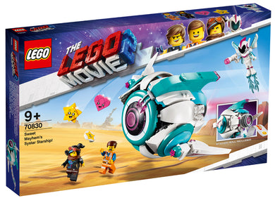70830 Sweet Mayhem's Systar Starship Lego Movie 2