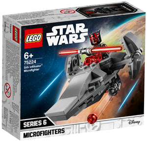 75224 Sith Infiltrator Microfighter Star Wars