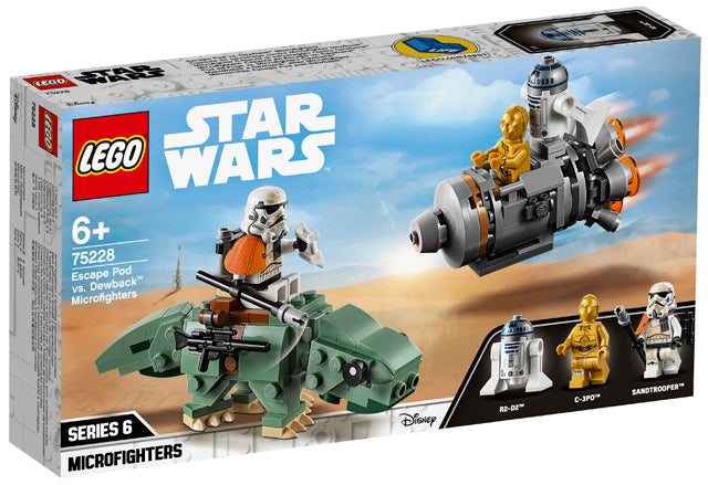 75228 Escape Pod Vs Dewback Microfighters Star Wars