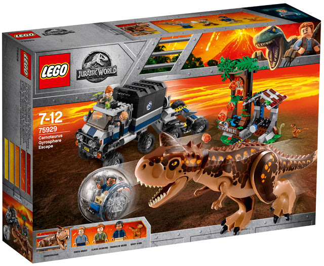 75929 Carnotaurus Gyrosphere Escape Jurassic World