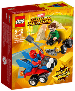 76089 Mighty Micros : Scarlet Spider Vs Sandman Super Heroes