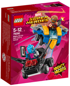 76090 Mighty Micros: Star-Lord vs. Nebula Super Heroes