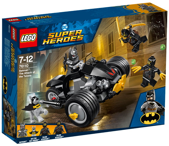 76110 Batman The Attack Of The Talons Super Heroes