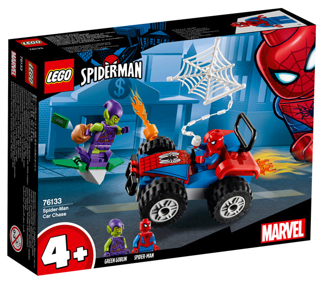 76133 Spiderman Car Chase Spiderman