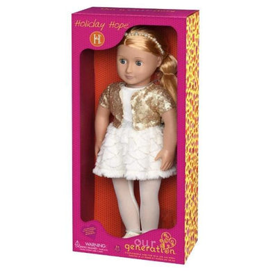 OG Classic Doll Holiday Hope 18 Inch Blonde