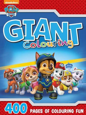 Paw Patrol Giant Colouring Book 400pg