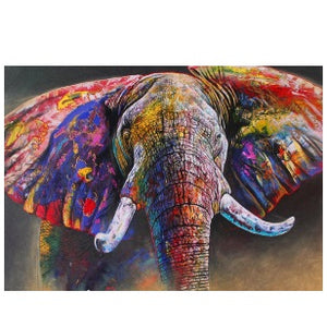 Puzzle 1500pc Colour Run (Elephant)