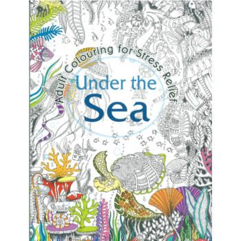 Under The Sea Adult Colouring Book 32pg