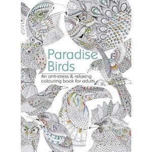 Paradise Birds Adult Col.Book