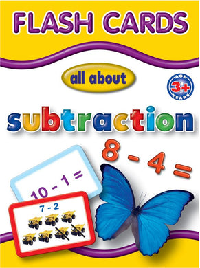 Big Flash Cards - Subtraction