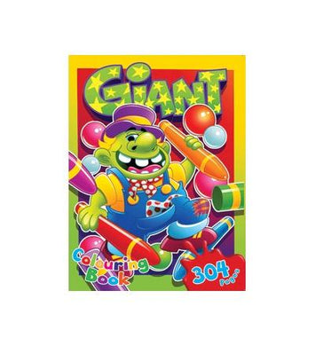 Colouring book giant 304pg