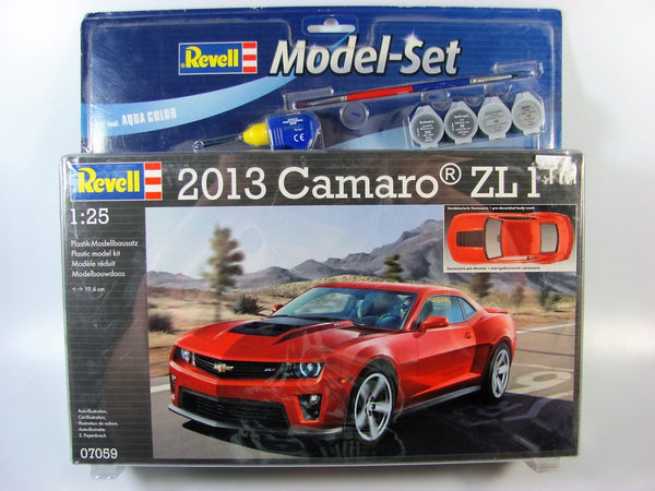 Model Set Camaro ZL 1 2013 (scale 1 : 25)