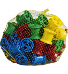 Cotton Reels 60pc with Laces