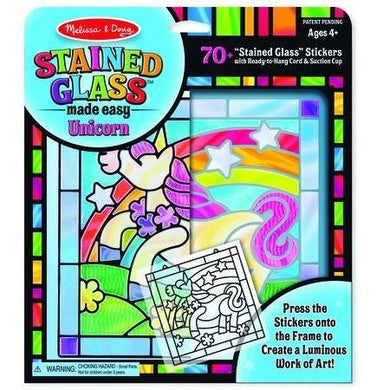 Stained Glass Kit - Unicorn
