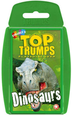 Top Trump Cards Dinosaurs