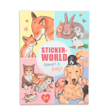 Mama & Baby Animals Sticker World