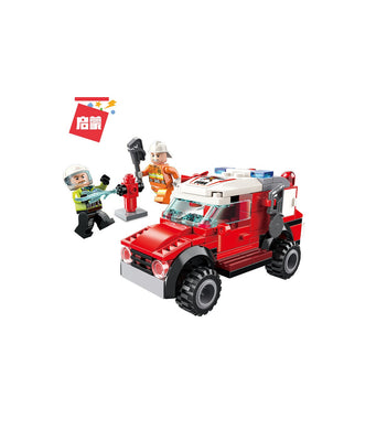 Fire Rescue/Maintenance Car 105pc