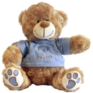 It's A Boy Bear Blue 25cm