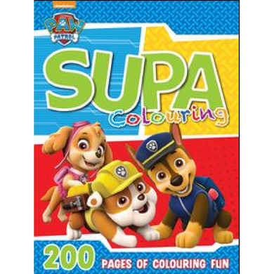Paw Patrol 200pg Colour & Activity