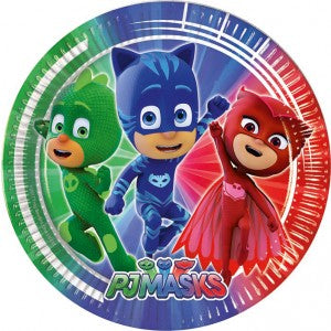 PJ Masks Party Plates 8pc